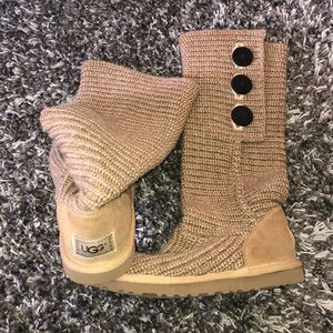 UGG woven boots